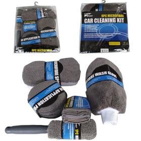 【清洁工具】洗车工具九件套装 汽车清洁套装 多功能家用车用全套清洁