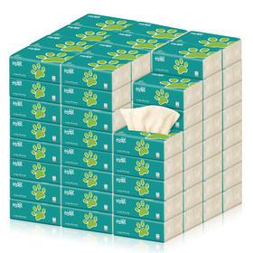 怡飘本色抽纸实惠家庭批发装10包42包240张每包