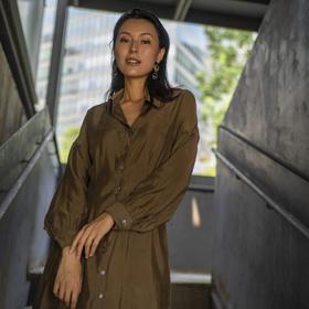 Victoria Dress 莱赛尔连衣裙