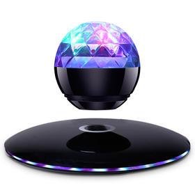 磁悬浮七彩灯无线蓝牙音箱迷你手机电脑音箱创意礼品音响低音炮