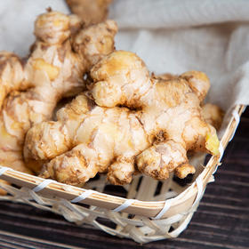 大山孕育的产物云南小黄姜 姜味浓郁 口感脆辣 产地现挖新鲜直达 5斤/8斤装