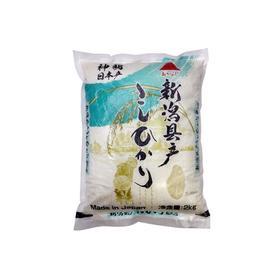 日本原装进口神明日本新泻县产越光大米2kg