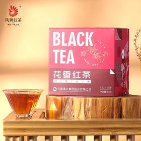 凤牌红茶 婵娟系列印象云南 花香型红茶60克盒装茶叶 花香滇红茶