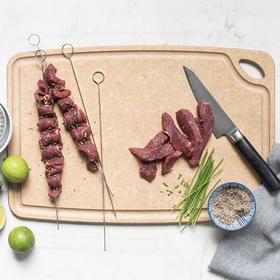SAGE美国进口砧板 S-381218 30x45cm 厨房切菜板世厨家用实木辅食水果小刀面案板