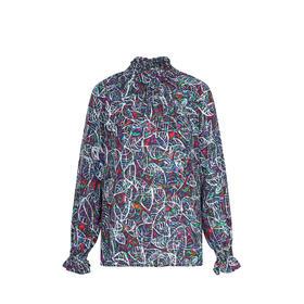 Bold Shirt 印花真丝衬衫