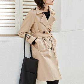 Lilymoon·经典中长款系带风衣 | 万元级Burberry经典版型,穿出女人的优雅和潇洒