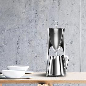 【11月30日起发货】LplusDesign 鼎壶 具有仪式感的茶器 304不锈钢虹吸壶公道杯