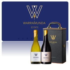 【答谢礼卡】Warramunda 华乐达玛珊干白葡萄酒W酒庄2018年750ml/瓶 Warramunda 华乐达西拉干红葡萄酒2017  W酒庄Syrah750ml/支澳洲进口国内发货