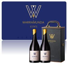 【尊享礼盒】 Warramunda2017华乐达黑皮诺干红2支礼盒装