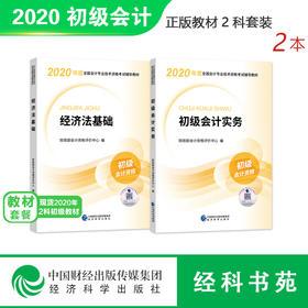 2020年初级会计职称考试教材套装(经济法基础+初级会计实务)