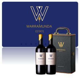 【尊享礼盒】 Warramunda2017华乐达赤霞珠干红2支礼盒装