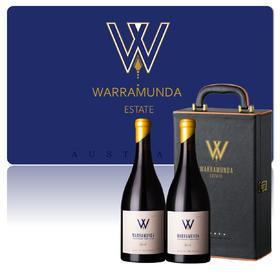 【尊享礼盒】 Warramunda2017华乐达西拉干红2支礼盒装