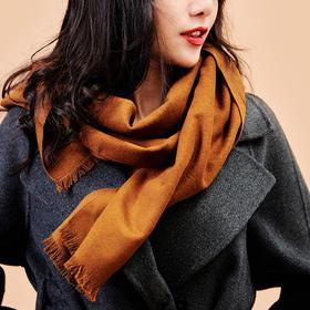 茧致·100%真丝拉绒围巾│300颗桐乡蚕茧才得一条,如羊绒般温暖,秋冬必备