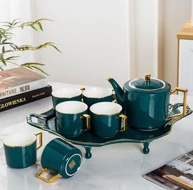 【餐具】景德镇陶瓷茶具套装欧式家用