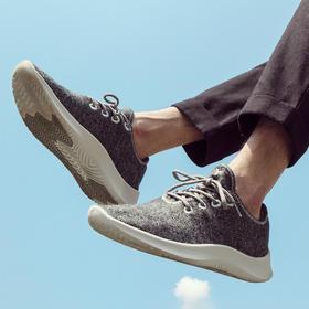 """【澳洲美丽奴羊毛做的鞋子】澳洲Cwool kicks慢跑轻便羊毛鞋  """"零"""" 胶水,就像踩在云朵上一样舒服!情侣款"""