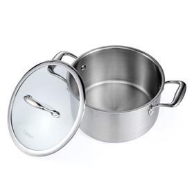 【锅具】不锈钢煮锅汤锅304德国家用小戴德加厚煲汤锅大众 锅燃气欧式