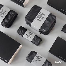 杜邦纸黑科技面料imblu洗漱包男士漫游系列男女收纳袋旅行健身防水化妆包