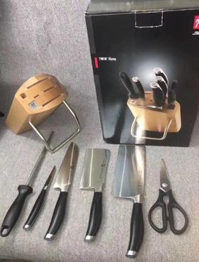 【刀具】双立人刀具7件套刀具套装不锈钢家用切刀奥林系列厨房刀具