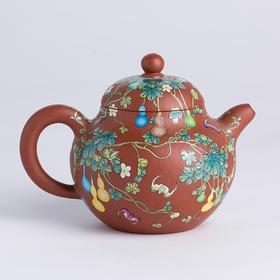 阳士琦·紫砂壶葫芦(风华) 艺