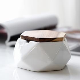 现代简约风陶瓷烟灰缸创意家居客厅卧室电视柜玄关餐桌装饰品摆件