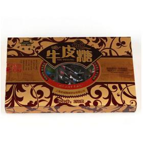 上海特产 老城隍庙 六味牛皮糖 250g 盒装