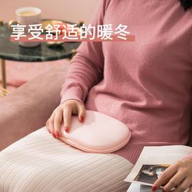 【和生活谈一场有温度的恋爱】edon N3暖水袋硅胶热水袋迷你暖手宝充电防爆暖水袋女敷肚子经期随身暖宝宝