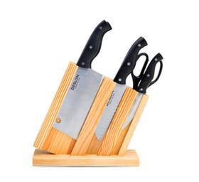 【刀具】德世朗不锈钢厨房刀具7件套