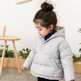 【女童】*女童羽绒服韩版短款 2019冬季儿童白鸭绒 | 基础商品