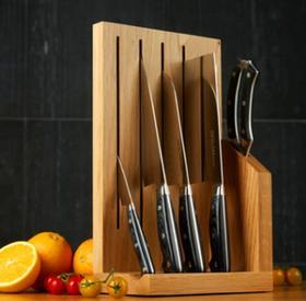 【刀具】德世朗礼品刀具套装组合家用厨房套刀不锈钢菜刀套装砍骨刀六件套