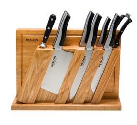 【刀具】德世朗厨房家用不锈钢十件套刀具