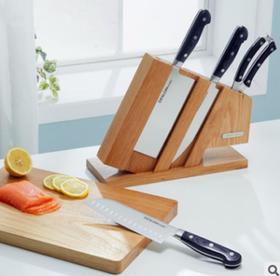 【刀具】德世朗厨房家用不锈钢8件套刀具