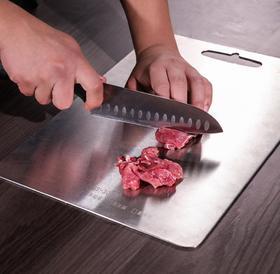 【厨房配件】康巴赫不锈钢菜板抗菌防霉切水果砧板切菜板家用