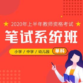 2020上教资笔试系统班(单科)