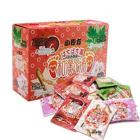JTN日本小片方爆汗汤暴汗汤音色香汤祛湿美肌肤泡脚足浴 1盒12包 4中口味