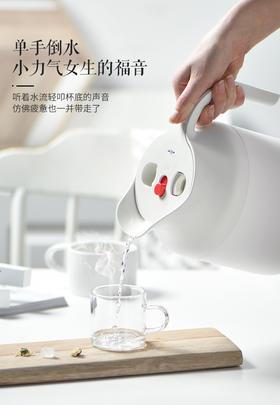 【餐具】Simita保温水壶家用大容量不锈钢暖热开水瓶办公室时尚泡茶壶