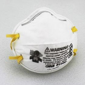 3M 8110S小号,适合小孩或者脸部较小的人群,防雾霾PM2.5,粉尘,颗粒物(20个装)