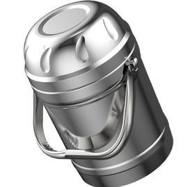 【餐具】不锈钢双层保温提锅防溢保温桶分格碗盖