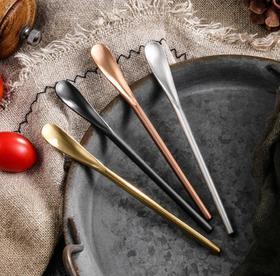 【餐具】日式304不锈钢长柄搅拌棒咖啡小勺子创意冰勺搅拌勺