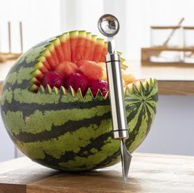 【厨房配件】304水果雕花刀挖球器 304水果挖球器