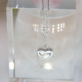 尚镁韩版时尚爱心套链 J90020