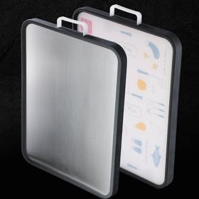 【厨房配件】小麦两用双面砧板家用厨房分类菜板304不锈钢案板