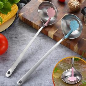 【厨房配件】不锈钢304火锅汤勺新款火锅餐具漏勺