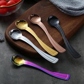 【餐具】304不锈钢勺咖啡创意可爱雪糕搅拌勺子儿童便携餐具