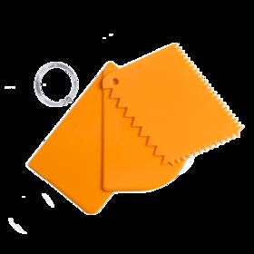 百钻塑料刮板切面刀 面团切刀刮面板大小号 多种大小款式可选