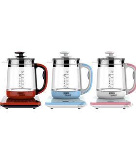 【电器】304大容量1.8L精品加厚玻璃美美养生壶花茶壶煎药壶