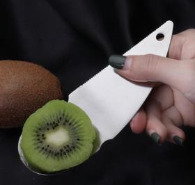 【厨房配件】猕猴桃刀304不锈钢奇异果刀挖勺猴桃切切蛋器