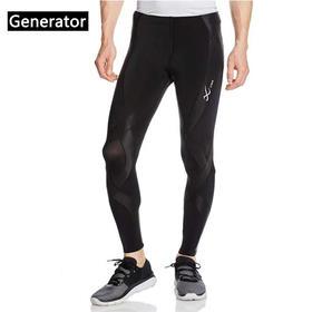 CWX 男女款发动机压缩裤 - 支撑紧身,跑步健身速干裤