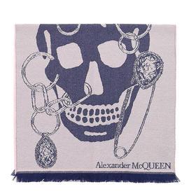 【寺库专供】Alexander McQueen 亚历山大·麦昆 女士 粉色 围巾 87-5797283200Q5968