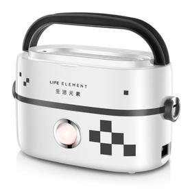 【电器】双陶瓷内胆保温电热饭盒 密封保鲜加热电饭盒可煮饭热菜