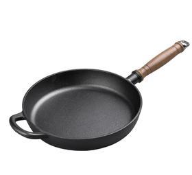 【锅具】铁工房平底锅铸铁煎锅无涂层生铁小牛排锅烙饼煎蛋不粘锅电磁炉用
